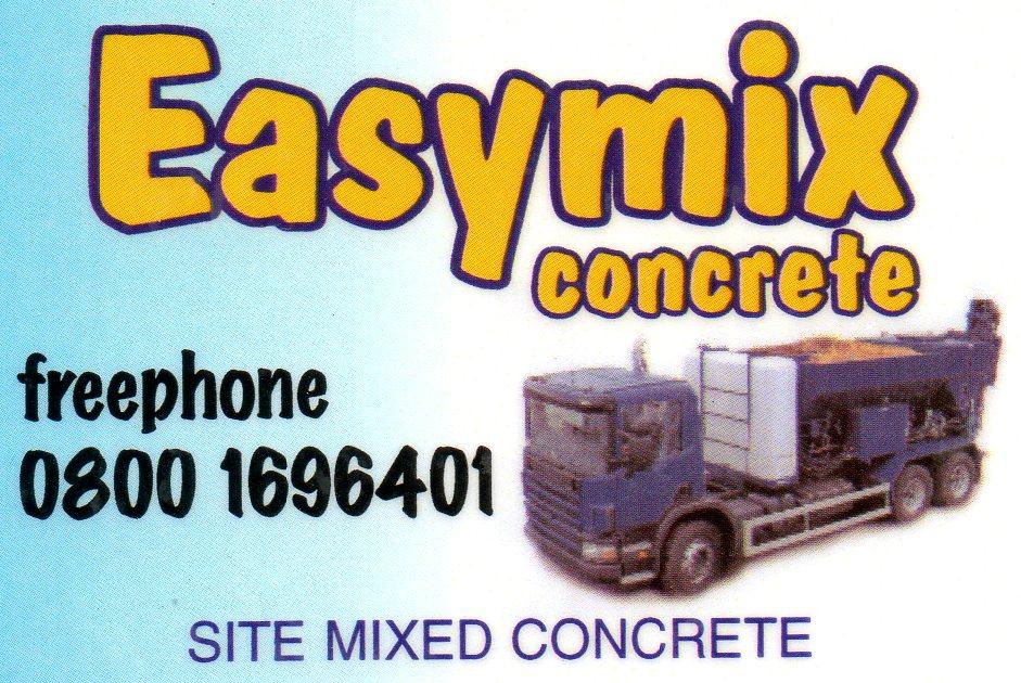 Easymix Concrete 0800 1696401
