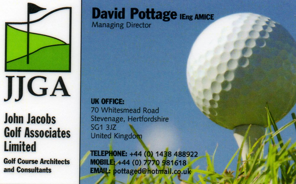 John Jacobs Golf Associates Limited 01438 488922